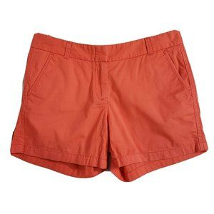 "J Crew Broken In Chino Shorts Coral 4""Inseam 21760"
